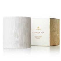 Frasier Fir Gilded Ceramic Poured Candle Medium