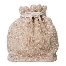 Mini Pearl Drawstring Bag