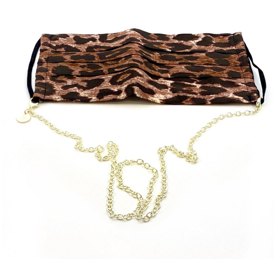 """Bia Face Covering Chain 27"""""""