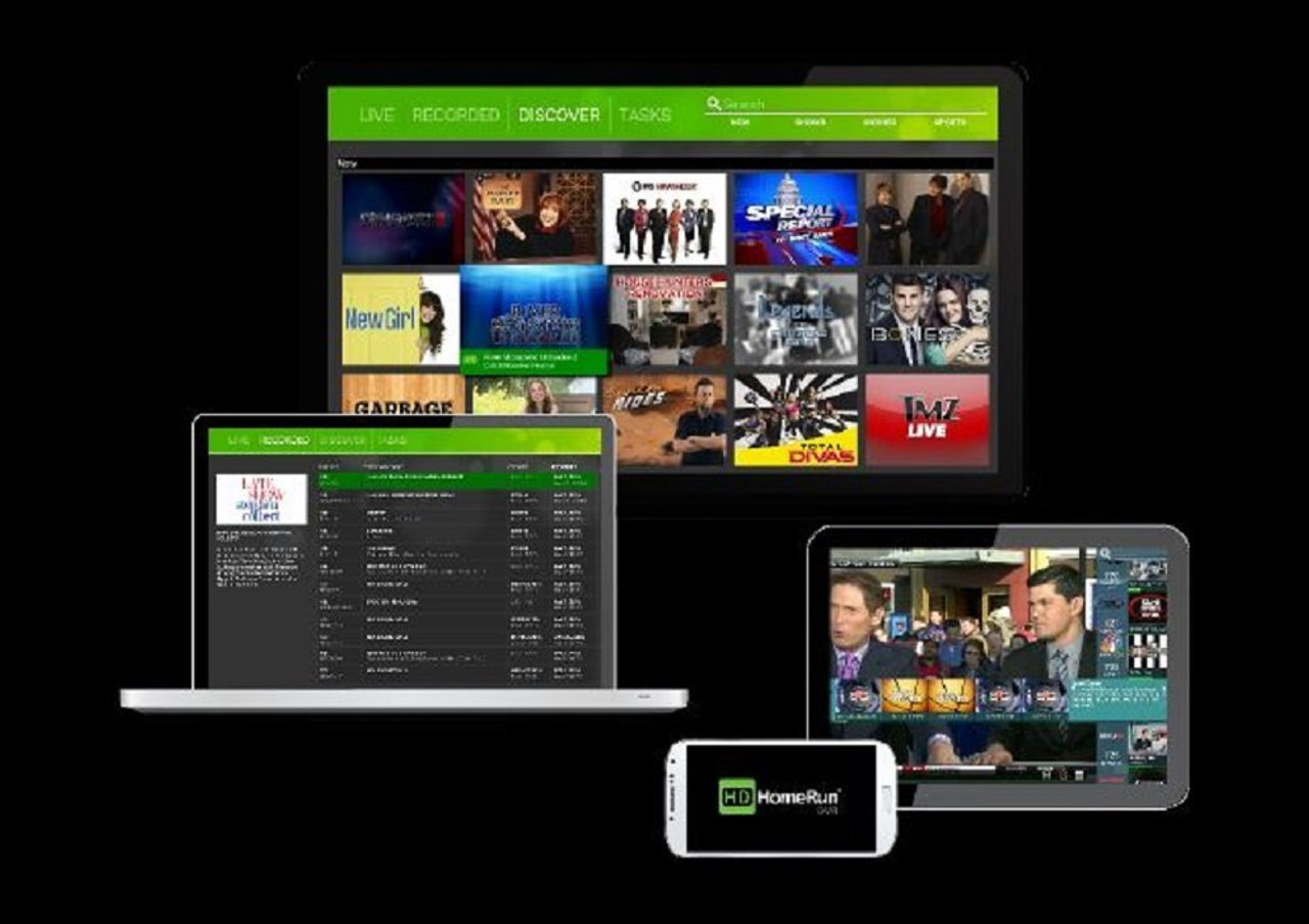 SiliconDust HDHomeRun EXTEND FREE Broadcast HDTV (2-Tuner)
