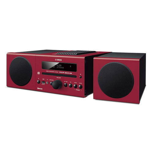Yamaha MCR-B043RE Micro Component System Red