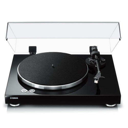 Yamaha TT-S303 Hi-Fi Vinyl Belt Drive Turntable Piano Black