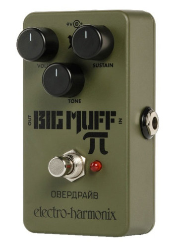 ElectroHarmonix Green Russian Big Muff Distortion/ Sustainer Pedal
