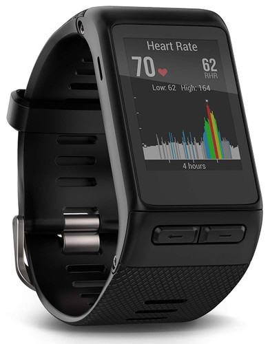 Garmin vivoactive HR GPS Smart Watch, X-large fit - Black