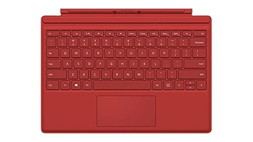 Microsoft Type Cover Keyboard/Cover Case for Tablet - Red R9Q-00005