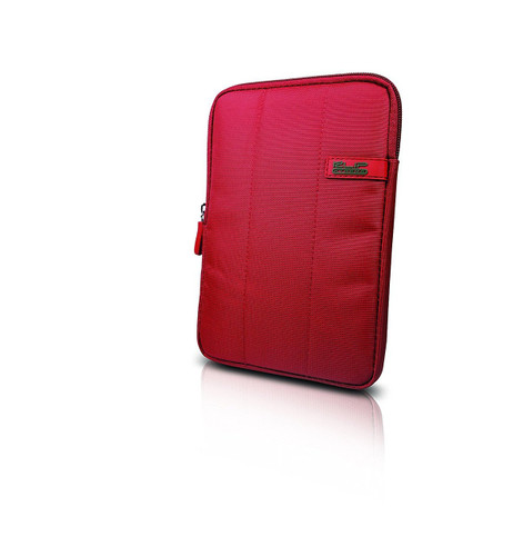 """Klip Xtreme Skudo 7"""" Premium iPad/Tablet Sleeve with shock absorbing bubbles (Red)"""