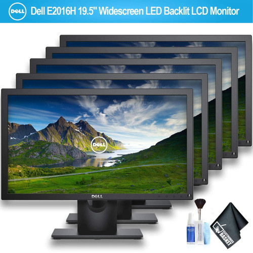 """Dell E2016H 19.5"""" Widescreen LED Backlit LCD Monitor - 5 Pack"""