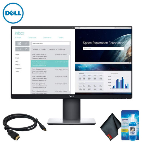 "Dell P2319H 23"" 16:9 IPS Monitor Standard Bundle"