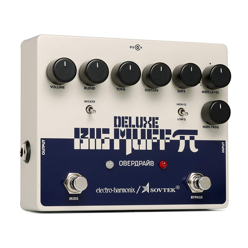 Electro Harmonix Sovtek Deluxe Big Muff Pi Effects Pedal