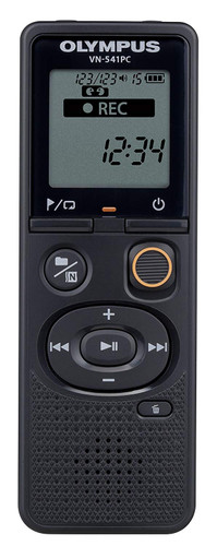 Olympus VN-541PC With PC Link 4GB Black Digital Voice Recorder