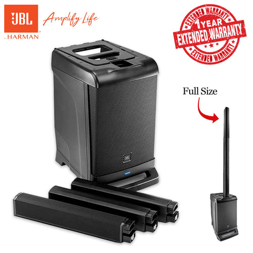 JBL EON ONE All-In-One Linear Array PA System With 1-Year Extended Warranty