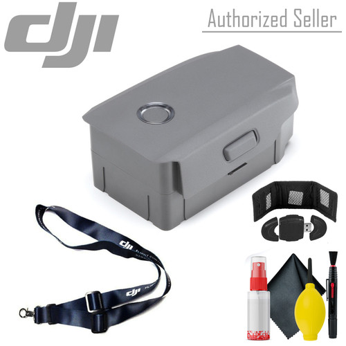 DJI  Flight Battery - Lanyard - Memory Card Wallet & More