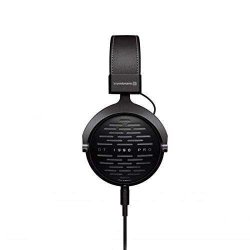 Beyerdynamic DT 1990 Pro 250 Ohm Open-Back Studio Reference Headphones and Audio-Technica AT2020 Cardioid Condenser XLR Microphone Studio Recording Bundle -Includes- Deluxe Cleaning Kit
