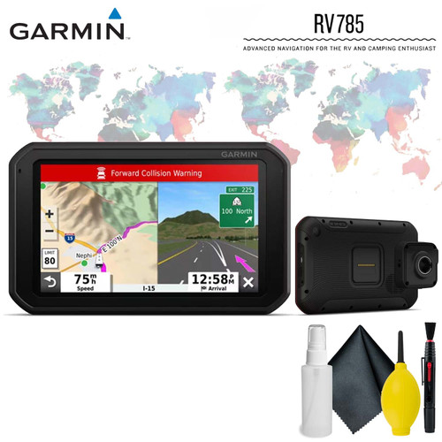 Garmin RV 785 & Traffic, Advanced GPS Navigator for RVs