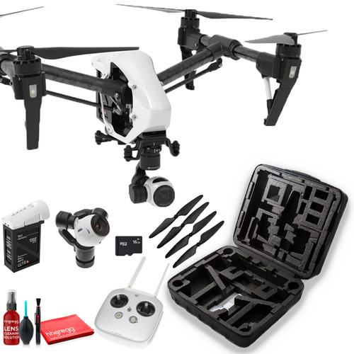 DJI??Inspire 1 v2.0 Quadcopter with 4K Camera and 3-Axis Gimbal - Starter Kit