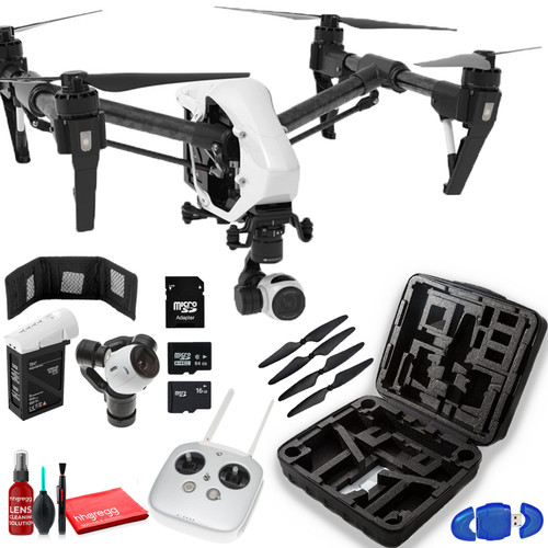 DJI??Inspire 1 v2.0 Quadcopter with 4K Camera and 3-Axis Gimbal - Standard Kit