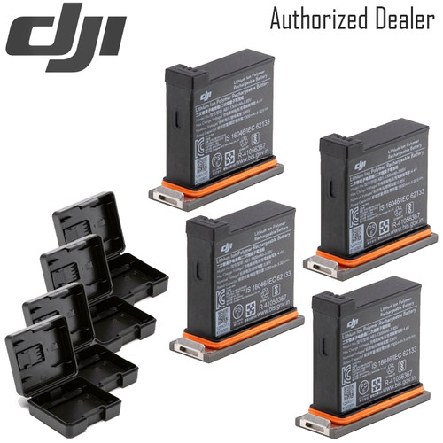 DJI Battery for Osmo Action Camera x4 Pack