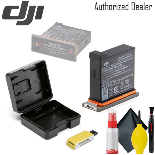 DJI Battery for Osmo Action Camera - USB Card Reader