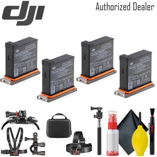 DJI Battery for Osmo Action Camera x4 - Card Reader - Mounting Kit