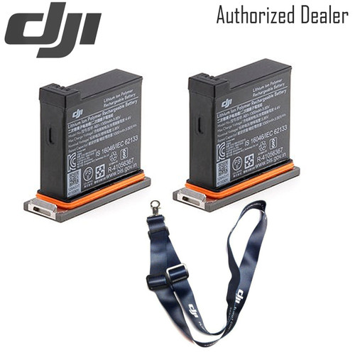 DJI Battery for Osmo Action Camera x2 - DJI Lanyard (dark blue)