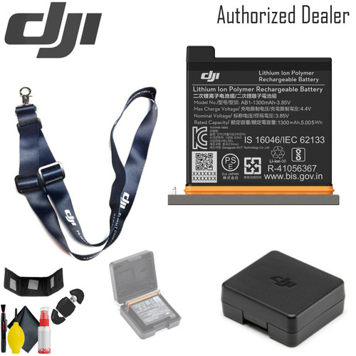 DJI Battery for Osmo Action Camera - DJI Lanyard (dark blue) And More