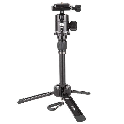 SIRUI 3T-35 Table Top/Handheld Video Tripod with Ball Head - Black