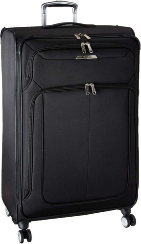 Samsonite Solyte DLX Expandable Softside Luggage with Spinner Wheels Black