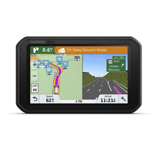 Garmin d?zlCam 785 LMT-S GPS Truck Navigator with Built-in Dash Cam, 010-01856-00