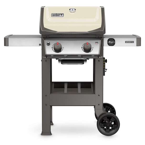 Weber 44060001 Spirit II E-210 Ivory LP Outdoor Gas Grill
