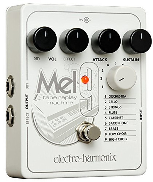 Electro-Harmonix EQ Effects Pedal MEL9