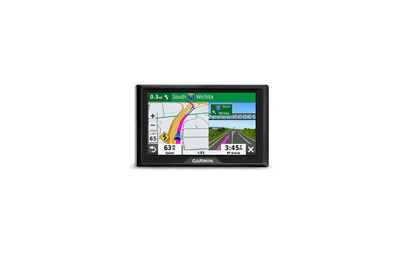 """Garmin Drive 52 & Traffic: GPS Navigator with 5"""" Display Features Easy-to-Read menus and maps, Traffic alerts, Plus Information to enrich Road Trips"""