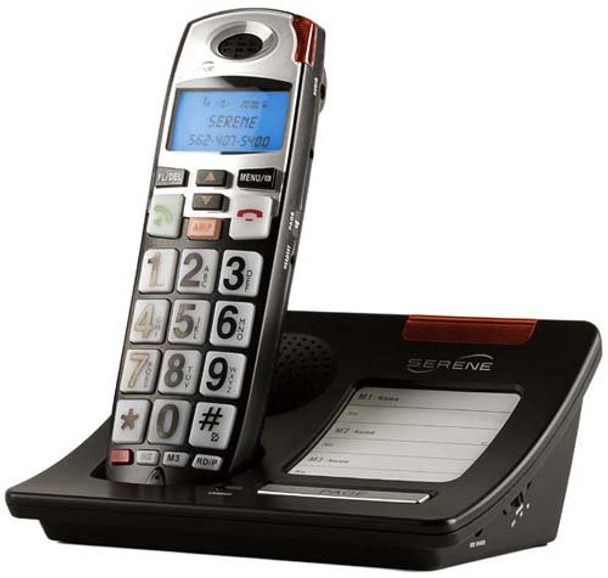 Serene Innovations CL60 DECT 6.0 Amplified Phone with Big Buttons and Caller ID, CL60 Amplified Phone, Each