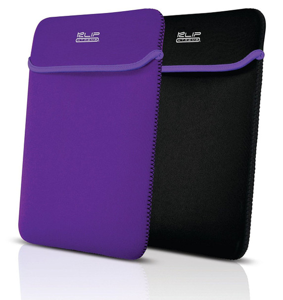 """Klip Xtreme Kolours Reversible iPad/tablet sleeve for Tablets up to 10"""""""