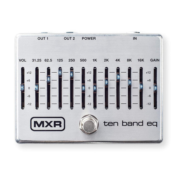 MXR M108S Ten Band EQ Guitar Effects Pedal