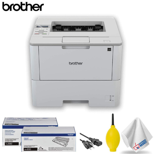 Brother HL-L6250DW Monochrome Laser Printer Base Accessory Kit