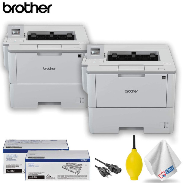 Brother HL-L6400DW Monochrome Laser Printer Professional Accessory Kit