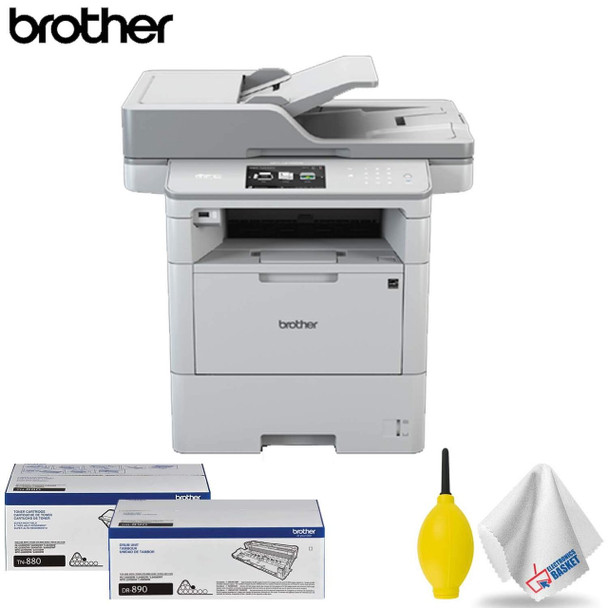 Brother MFC-L6750DW Monochrome Laser Printer All-in-One Base Accessory Kit