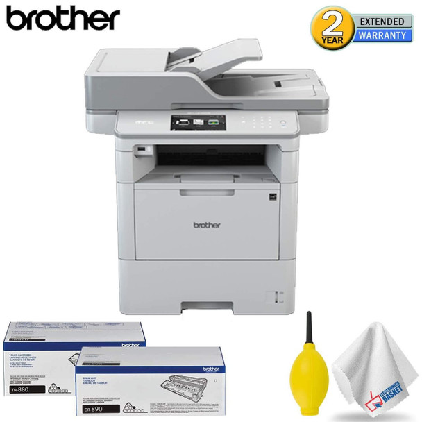 Brother MFC-L6750DW Monochrome Laser Printer All-in-One Standard Accessory Kit