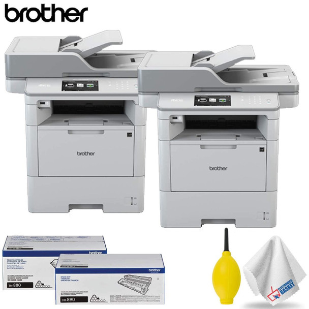 Brother MFC-L6750DW Monochrome Laser Printer All-in-One Professional Accessory Kit