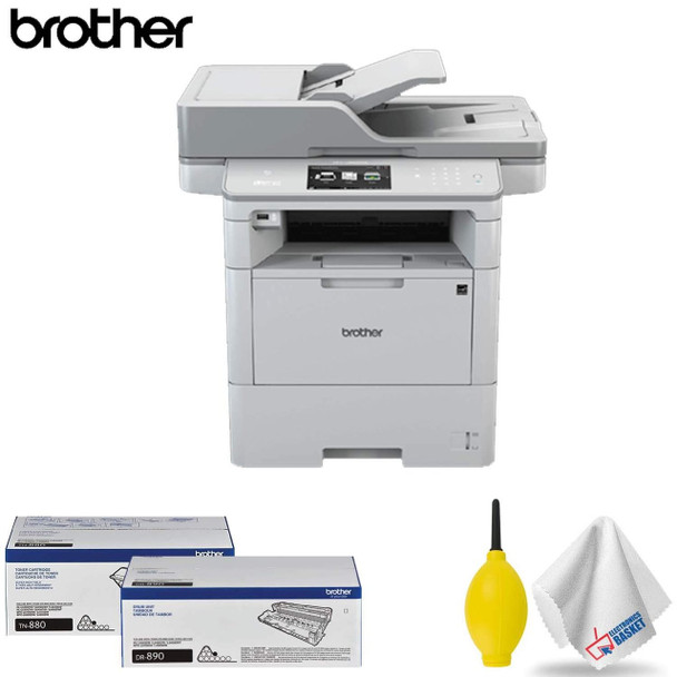Brother MFC-L6900DW Monochrome All-in-One Laser Printer Base Accessory Kit