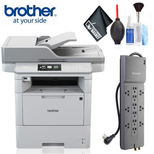 Brother MFC-L6750DW Monochrome Laser All-in-One Printer Plus Bundle