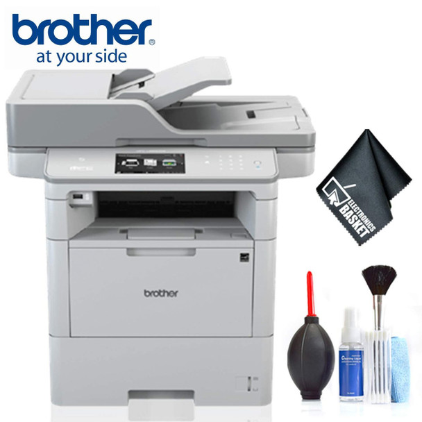 Brother MFC-L6900DW Monochrome Laser All-in-One Printer Standard Bundle