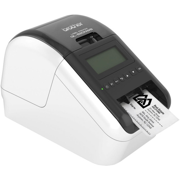 Brother QL-820NWB Professional Ultra Flexible Label Printer - Essential Bundle