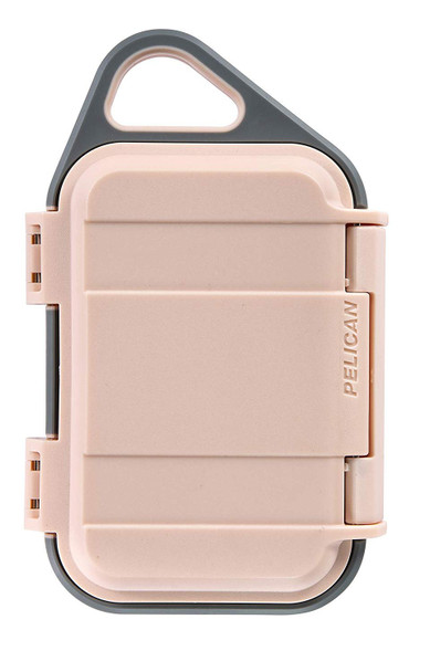 Pelican Go G10 Case - Waterproof Case (Blush/Grey)