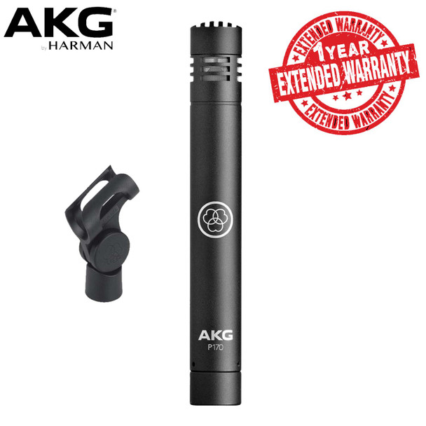 AKG???Project Studio Condenser Microphone Includes Stand Adapter AND 1-Year Extended Warranty
