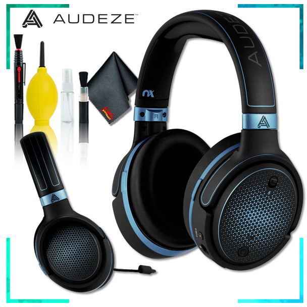 Audeze Mobius Planar Magnetic Gaming Headset (Blue) + Cleaning Kit