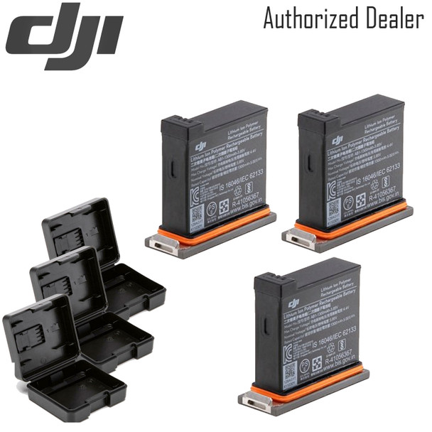 DJI Battery for Osmo Action Camera x3 Pack