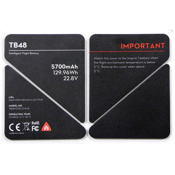 DJI Battery Insulation Sticker for TB48 Battery