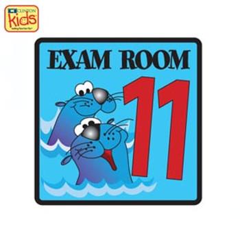 CLINTON EX11 EXAM ROOM & OFFICE SIGNS