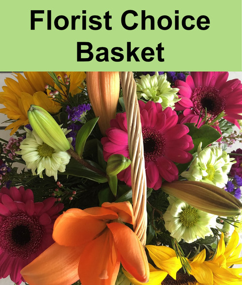 Florist Choice Basket Arrangement $45-$300